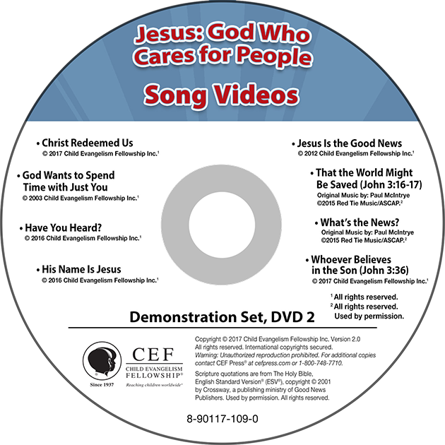Jesus: God Who Cares for People Song Video Album MP4 'Download'