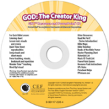 God: The Creator King Resource & PPT CD
