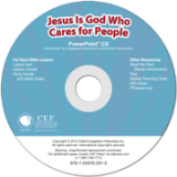 Jesus Is God Who Cares for People PowerPoint CD