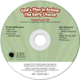 God's Plan in Action: The Early Church PowerPoint CD