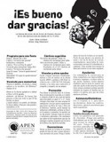 Es bueno dar gracias texto (It's Good to Give Thanks - Text)