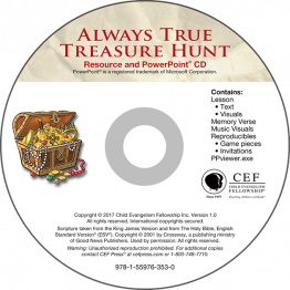 Always True Treasure Hunt (Easter) PowerPoint CD