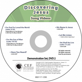 Discovering Jesus Song Video Album MP4 'Download'