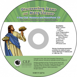 Discovering Jesus / Mary Slessor Resource & PPT CD