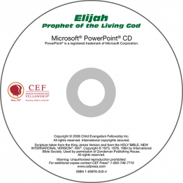 Elijah: Prophet of the Living God PowerPoint CD