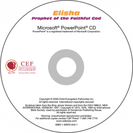 Elisha: Prophet of the Faithful God PowerPoint CD