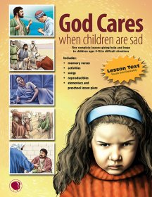 God Cares When Children Are Sad - English Text