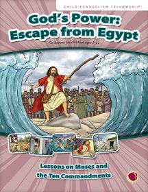 God's Power: Escape from Egypt - English text