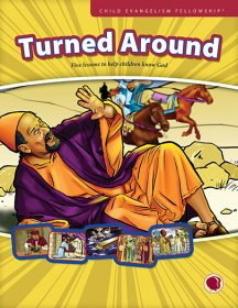 Turned Around - English text