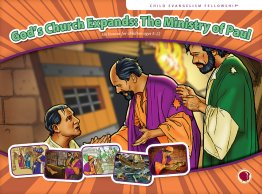 God's Church Expands: The Ministry of Paul - Flashcard visuals