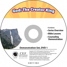 God: The Creator King Demo DVD
