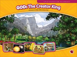 God: The Creator King - Flashcard visuals