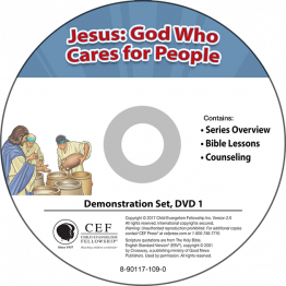 Jesus: God Who Cares for People Demo DVD