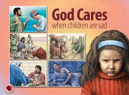 God Cares When Children Are Sad - Flashcard Visuals