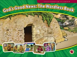 God's Good News: The Wordless Book - Flashcard visuals