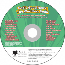 God's Good News: The Wordless Book GNC Resource PPT CD