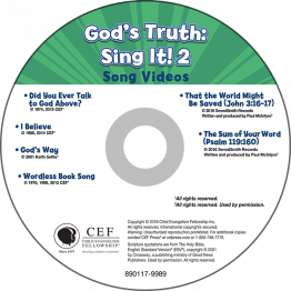 God's Truth: Sing It! Vol. 2 Song Videos (God's Good News)