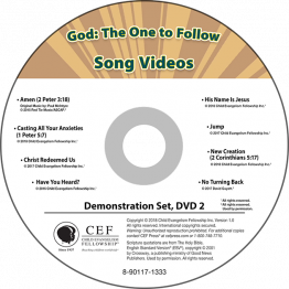 God: The One to Follow Demo DVD