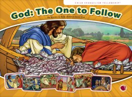 God: The One to Follow - Flashcard visuals