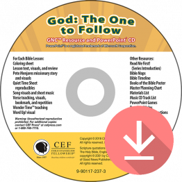 God: The One to Follow Resource & PPT Download