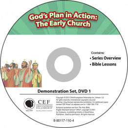 God's Plan in Action: The Early Church Demo DVD