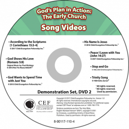 God's Plan in Action: The Early Church Song Video Album MP4 'Download'