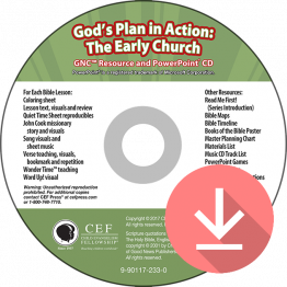 God's Plan in Action: The Early Church Resource & PPT Download