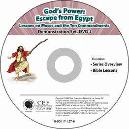 God's Power: Escape from Egypt Demo DVD Set