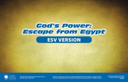 God's Power: Escape From Egypt Verse Visual ESV