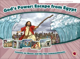 God's Power: Escape from Egypt - Flashcard visuals