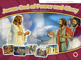 Jesus: God of Power and Glory - Flashcard visuals