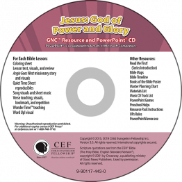 Jesus: God of Power and Glory Resource PPT CD