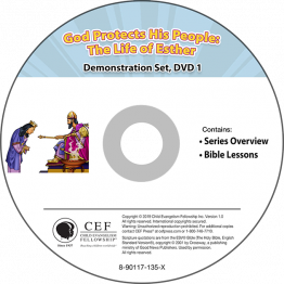 God Protects His People: The Life of Esther Demo DVD Set