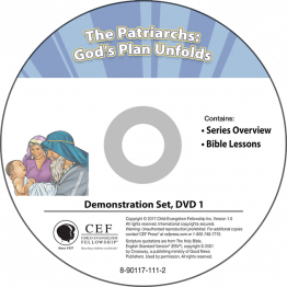 The Patriarchs: God's Plan Unfolds Demo DVD