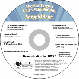 The Patriarchs: God's Plan Unfolds Song Video Album MP4 'Download'
