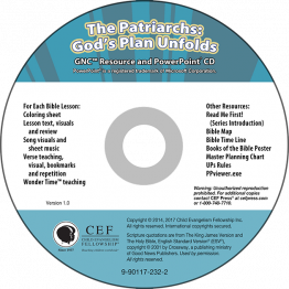 The Patriarchs: God's Plan Unfolds Resource & PPT CD