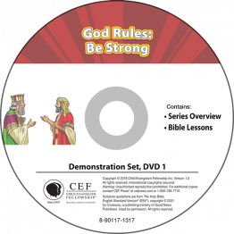 God Rules: Be Strong Demo DVD Set