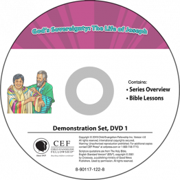 God's Sovereignty: The Life of Joseph Demo DVD Set