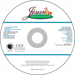 Jesus: My Savior & Friend Music CD (ESV)