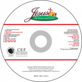Jesus: My Savior & Friend Music CD (KJV)