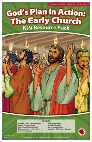 God's Plan in Action: The Early Church Resource Pack KJV