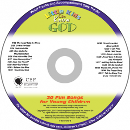 Little Kids Can Know God Music CD