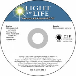 Light of Life PowerPoint CD Digital Download
