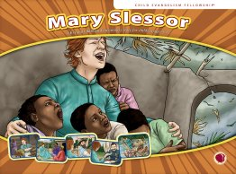 Mary Slessor Flashcard visuals