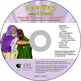 One Way / I Dare Resource PPT CD