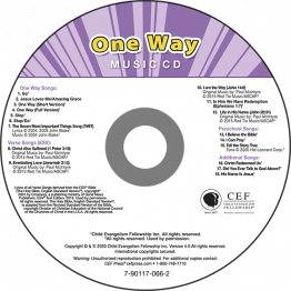 One Way Music CD