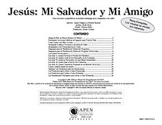 Jesús: Mi Salvado y Mi Amigo texto (Jesus: My Savior & Friend - Text)