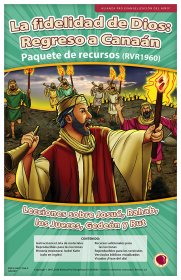 La fidelidad de Dios: El regreso a Canaán (God's Faithfulness: Return to Canaan) Resource Pack