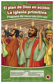 El Plan de Dios en acción: La iglesia Primitiva (God's Plan in Action: The Early Church Resource Pack Spanish