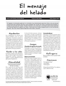 El mensaje del helado texto (The Ice Cream MESSage - Text)